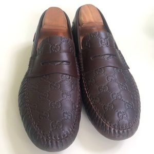 Gucci Authentic Brown Shoes Size 9.5